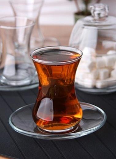 Lav Başak Çay Bardak - Çay Bardağı Takımı Seti 13Prç. Renkli